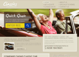 classicscarinsurance.co.uk