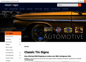 classictinsigns.com