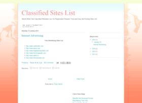 classifedsiteslist.blogspot.in