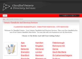 classifiedontario.com
