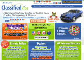 classifiedride.com
