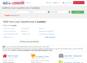 classifieds.adsinlondon.co.uk
