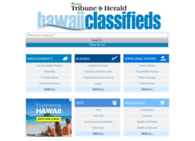 classifieds.hawaiitribune-herald.com