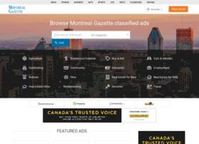 classifieds.montrealgazette.com