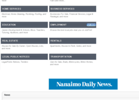 classifieds.nanaimodailynews.com