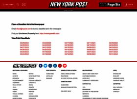 classifieds.nypost.com