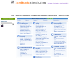 classifieds.tamilnaduclassic.com