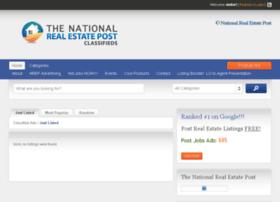 classifieds.thenationalrealestatepost.com