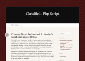 classifiedsphpscript.wordpress.com