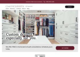 classyclosets.com