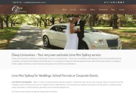 classylimousines.com.au