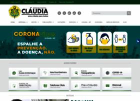 claudia.mt.gov.br