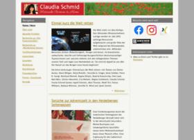 claudiaschmid.de