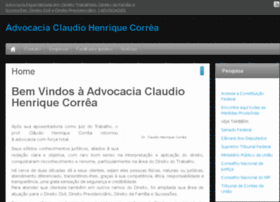 claudiohenriquecorrea.com.br