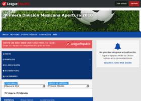 clausura2009.leaguerepublic.com