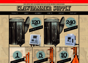 clawhammersupply.com