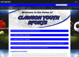 clawsonyouthsports.com