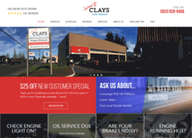 claysautoservice.com