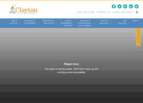 claytonearlylearning.org