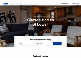 claytonhomesoflowell.com