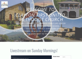 claytonmethodist.com