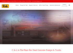 Clconcretepumpingtrucks.com