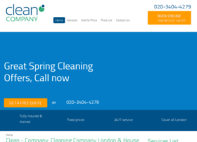clean-company.co.uk