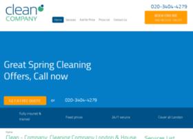 clean-company.co.uk