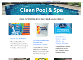 clean-pool-and-spa.com