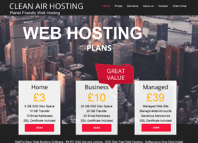 cleanairhosting.com