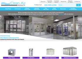 cleanairproducts.com