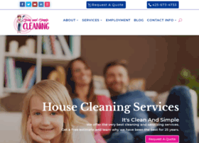 cleanandsimplecleaning.com