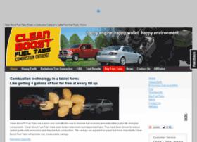 cleanboostfueltabs.com