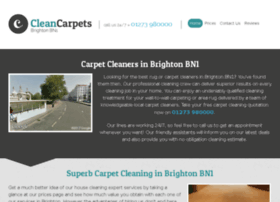 cleancarpets-brighton.co.uk