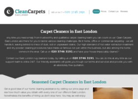 cleancarpets-eastlondon.co.uk