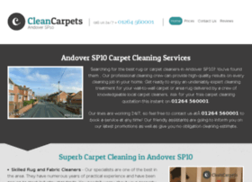 cleancarpetsandover.co.uk