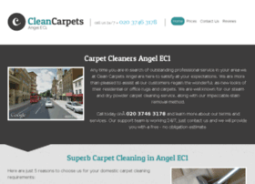 cleancarpetsangel.co.uk