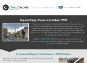 cleancarpetsbalham.co.uk