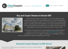 cleancarpetsbarnet.co.uk