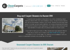 cleancarpetsbarnet.co.uk