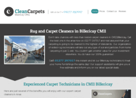cleancarpetsbillericay.co.uk