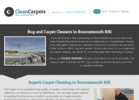 cleancarpetsbournemouth.co.uk