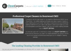cleancarpetsbrentwood.co.uk