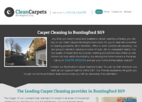 cleancarpetsbuntingford.co.uk
