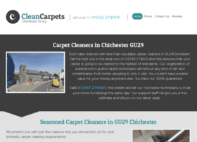 cleancarpetschichester.co.uk