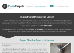 cleancarpetscityoflondon.co.uk