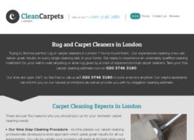 cleancarpetscityoflondon.co.uk