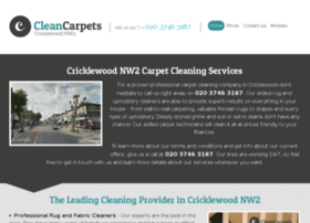 cleancarpetscricklewood.co.uk