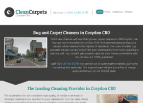 cleancarpetscroydon.co.uk