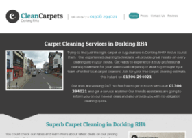 cleancarpetsdorking.co.uk